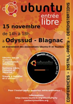 Ubuntu Party novembre 2008