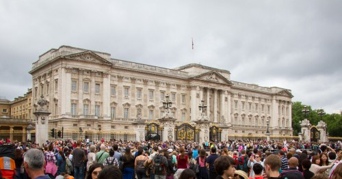 Photo du Buckingham Palace de Londres