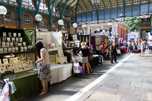 Photo de Covent Garden à Londres