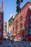 Photo des immeubles de Chinatown