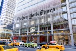 Photo de l'entrée du New York Times Building