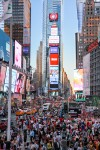 Photo prise depuis Times Square